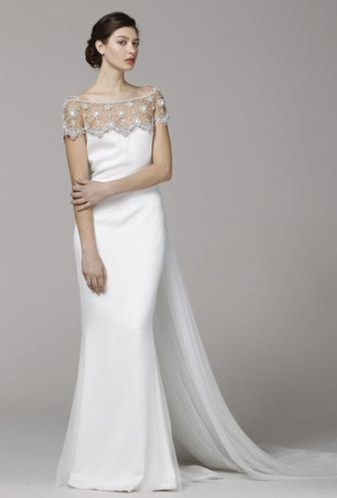 Marchesa Spring 2013 Wedding Gown