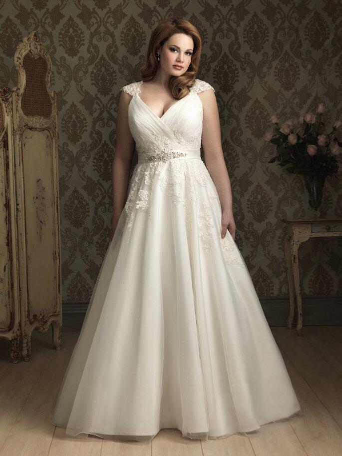 Vestidos de novia para chicas de talla grande - Allure Bridals