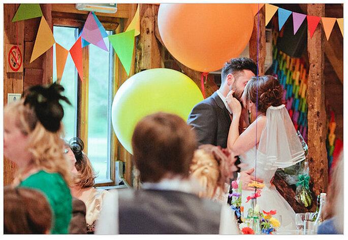 Una boda real con todos los colores de la alegría. Foto: We Heart Pictures