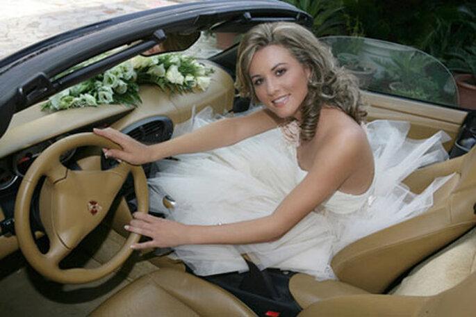 Noleggio auto matrimonio sposa