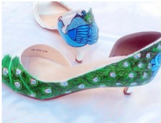 Peacock style ai vostri piedi!