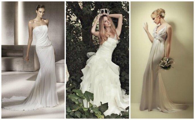 Estilos y tendencias en vestidos de novias para argentinas en 2012