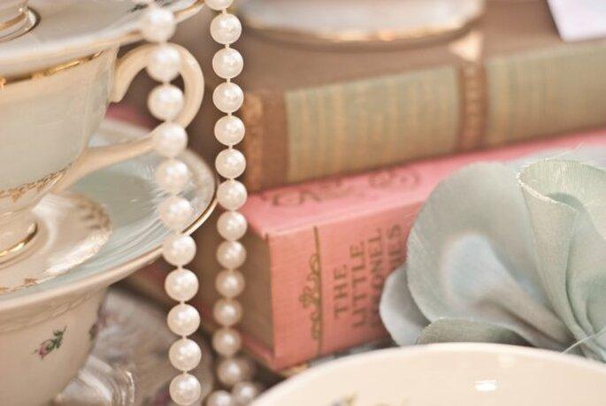 Perlas en tu look de novia - Meghan Christine Photography
