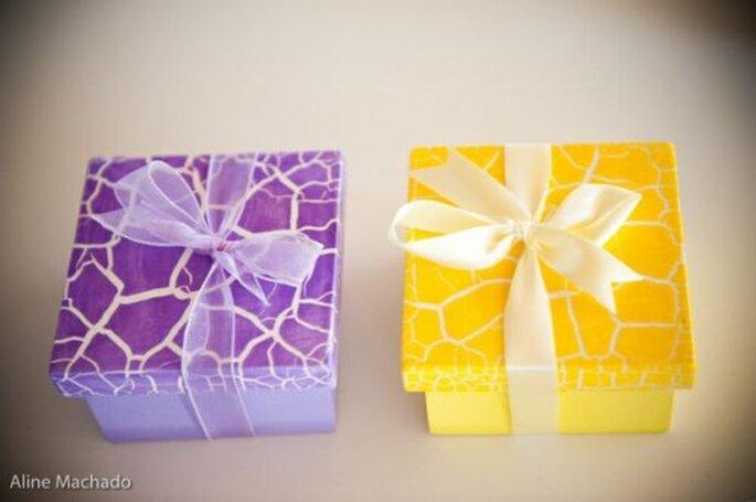 Un petit cadeau pour les invités de votre mariage. Photo : Aline Machado