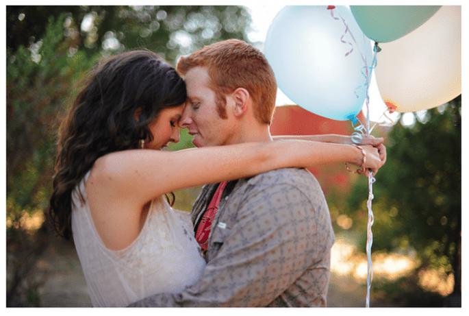 Mejora el encanto y la magia con la presencia de globos - Foto Kate Noelle Photography