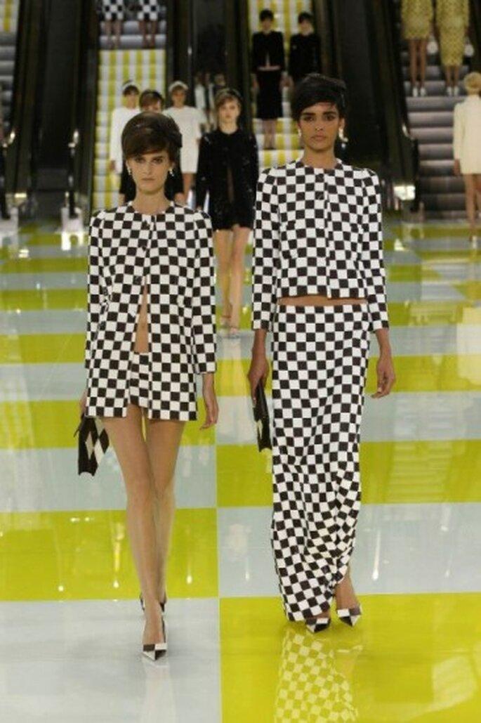 Vestidos para fiesta tendencias 2013. Foto de © Louis Vuitton y Ludwig Bonnet vía Facebook.