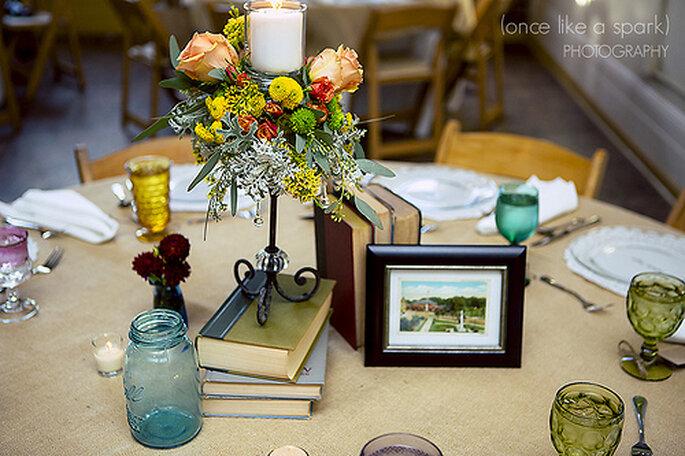 Décoration de mariage : allez-vous la faire vous-même ou laisserez-vous agir des pros ? - Photo : Once like a Spark