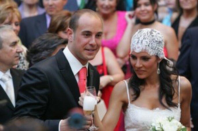 Boda de Pepe Reina y Yolanda Ruiz (mayo 2005)