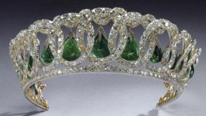 Tiara de la gran Duquesa Vladimir