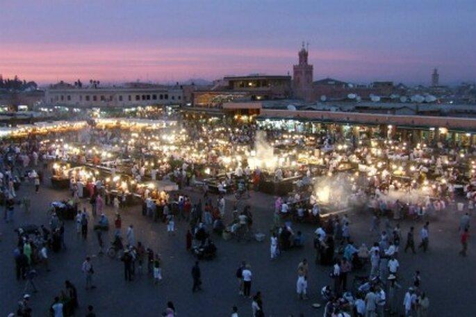 La magia de Marrakech para vuestro viaje de novios