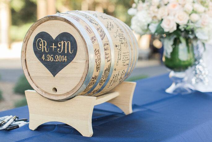 Las ideas más originales para recibir mensajes de los invitados en tu boda - Carlie Statsky