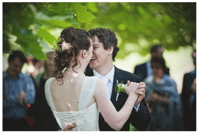 El primer baile de novios - Foto David Robertson