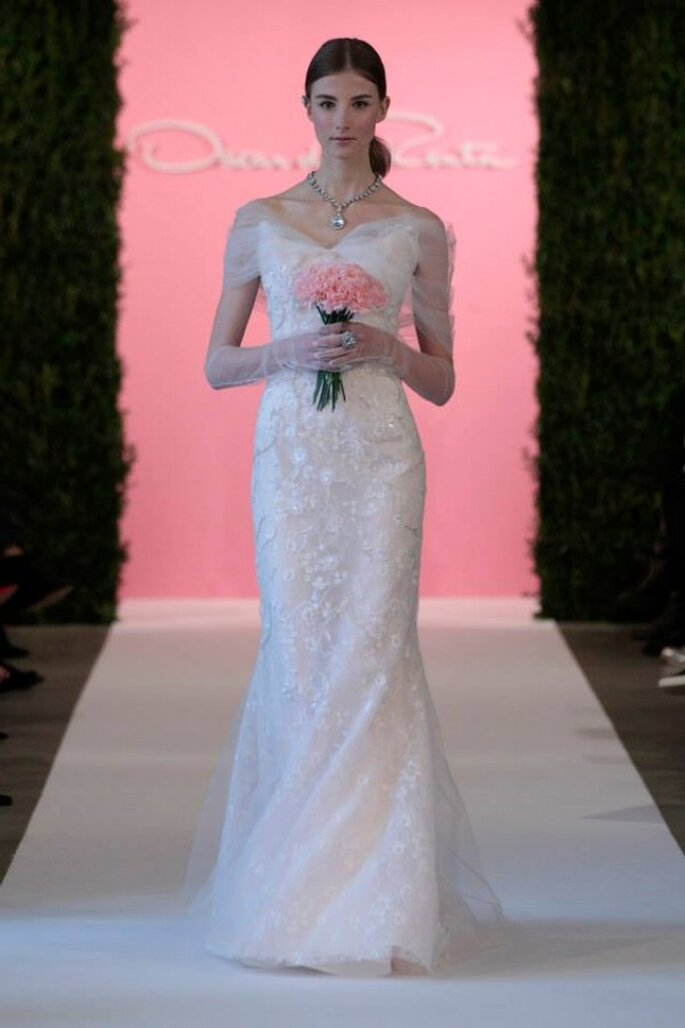 Les robes de mariée qui sauront conquérir les plus romantiques d'entre nous - Photo: Oscar de la Renta