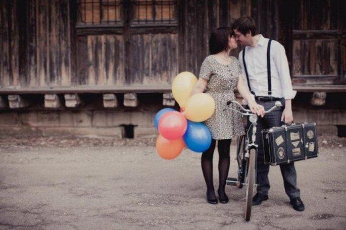 Fotografías antes de la boda. Foto de Nadia Meli.