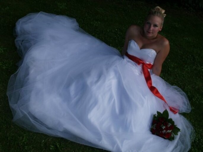 Une robe de mariée sur mesure, quoi de plus magique ? - Photo : Ofildelo