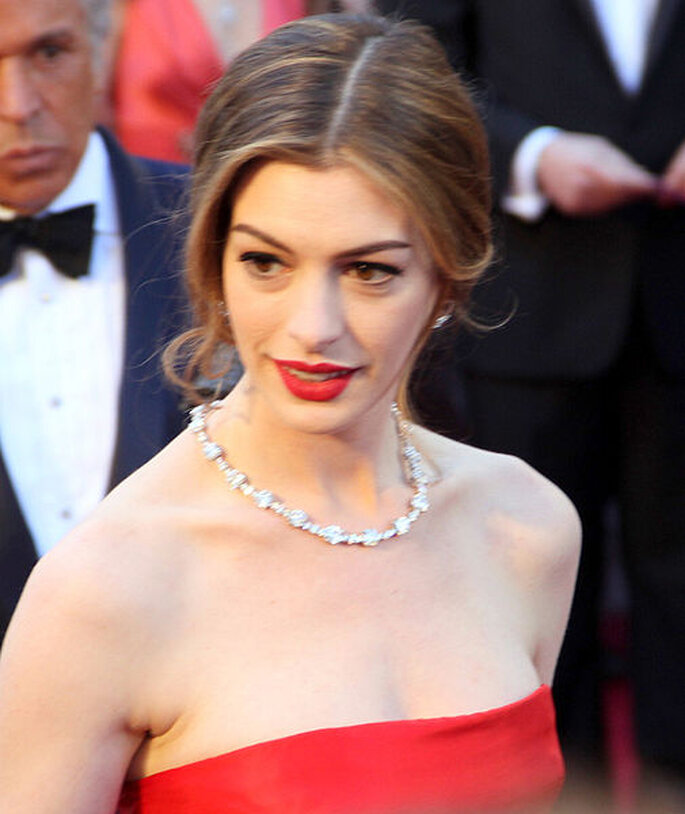 L'attrice Anne Hathaway. Foto: Creative Commons Attribution ShareAlike