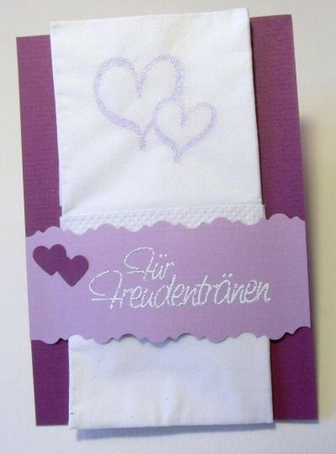 Was für eine schöne Idee! Hochzeitskarten von der Villa Zauberbaum