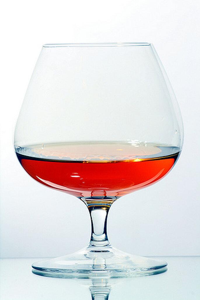 Copa para Cognac o Brandy. Imagen Creative Commons