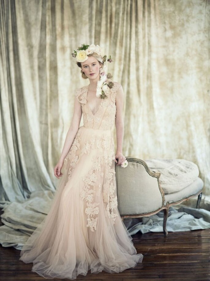 Detalles en color rosa pastel para tu boda - Foto Ann Street Studio