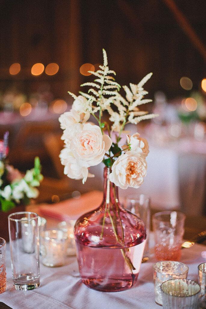 5 ideas innovadoras para decorar tu boda. Foto- Mark Brooke Photography
