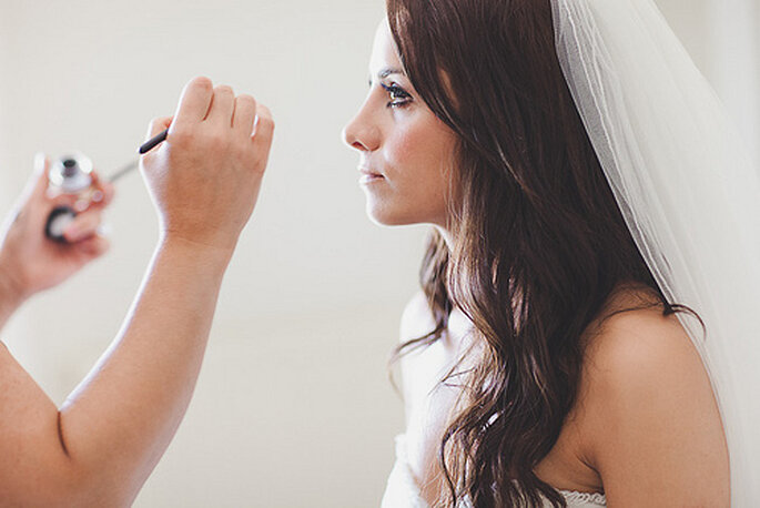 Perfektes Braut Make-up