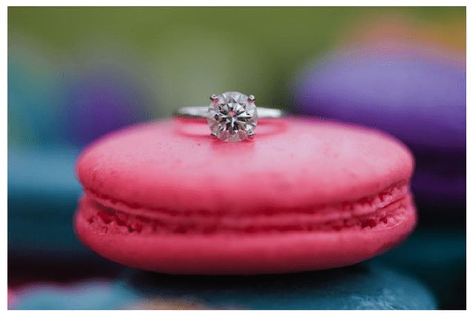 Macarons para el postre de tu boda - Foto Jasmine Lee Photography