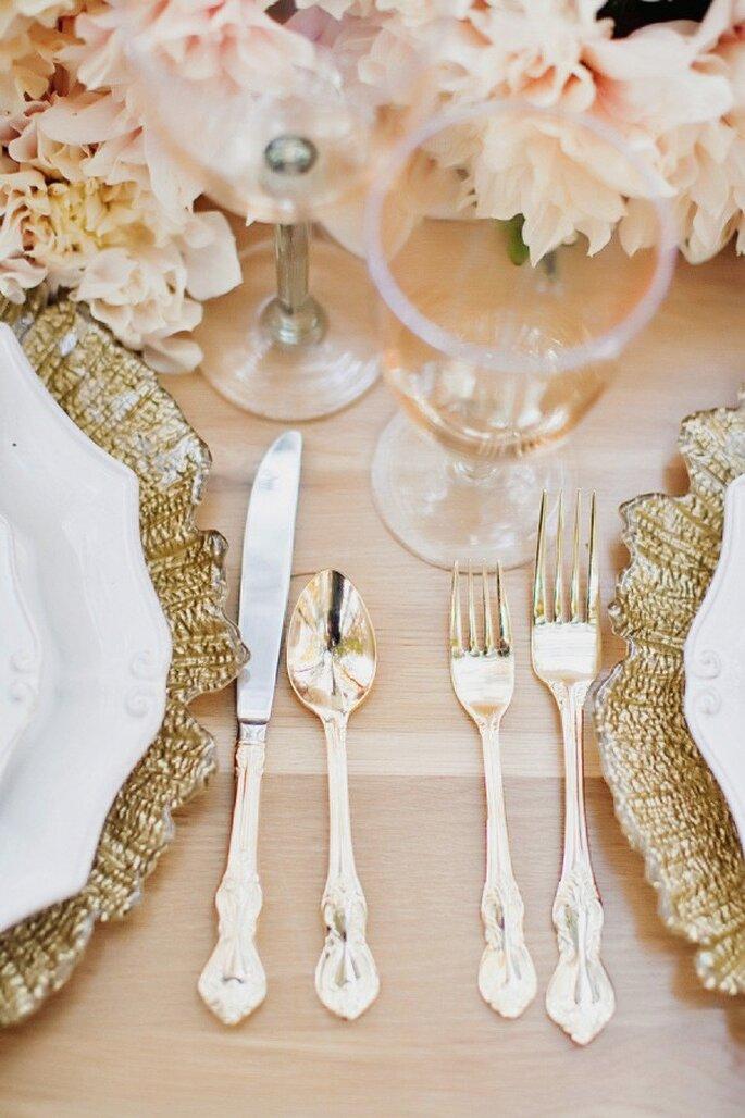 Detalles para tu boda en rose champagne - Foto Tinywater Photography