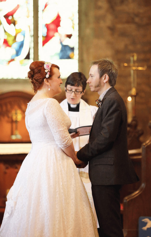 Romántica boda inspirada en los zombies y Star Wars - Foto Haywood Jones Photography
