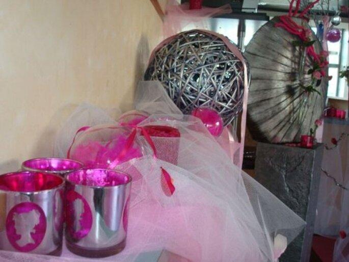 Une décoration de mariage qui brille : féerie assurée ! - Photo : One Day Event