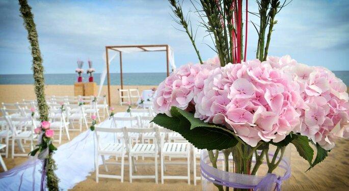 flores en bodas de dos días