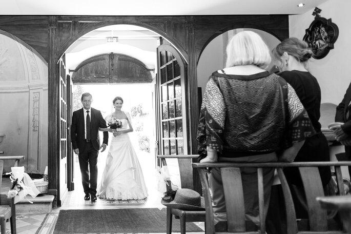 Photo : L'œil derrière le miroir - Photographie