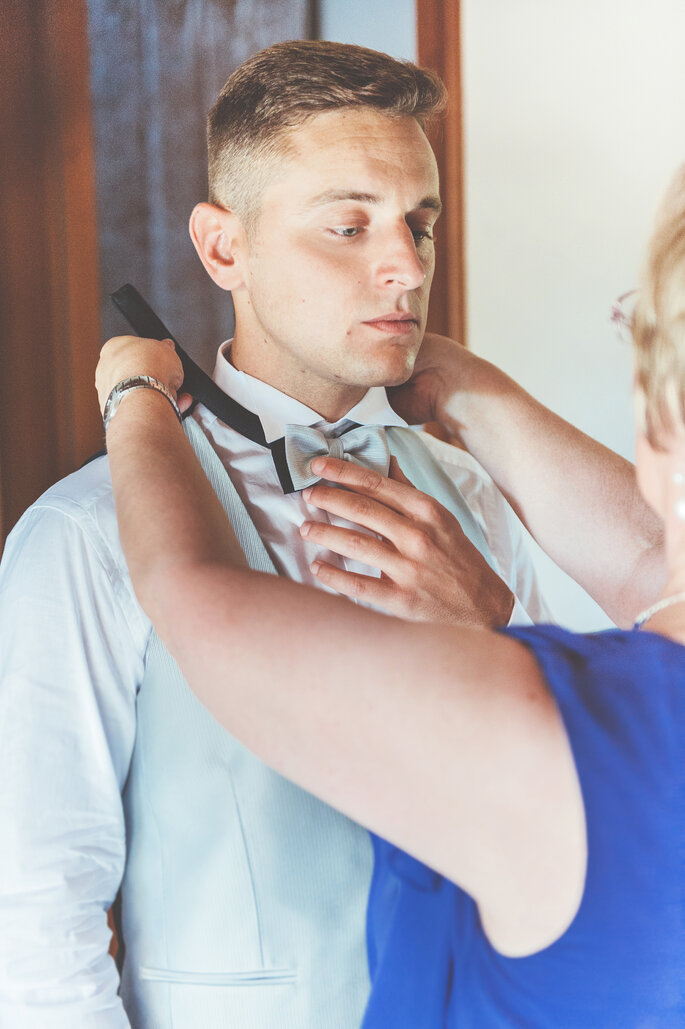 Abito da sposo: Rasore