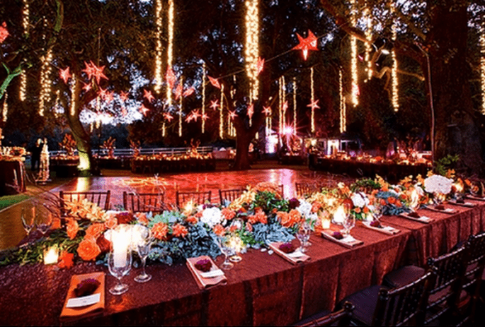 Mesas largas como tendencia para banquetes en 2014 - Foto Andrena Photo