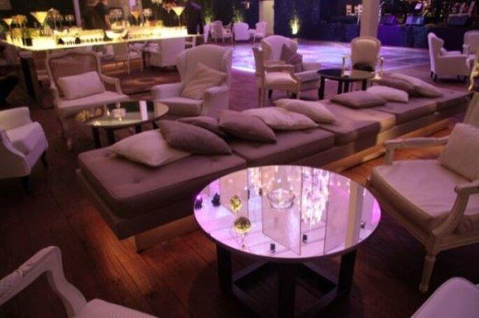 Mobiliario lounge. Imagen boutique de Tres