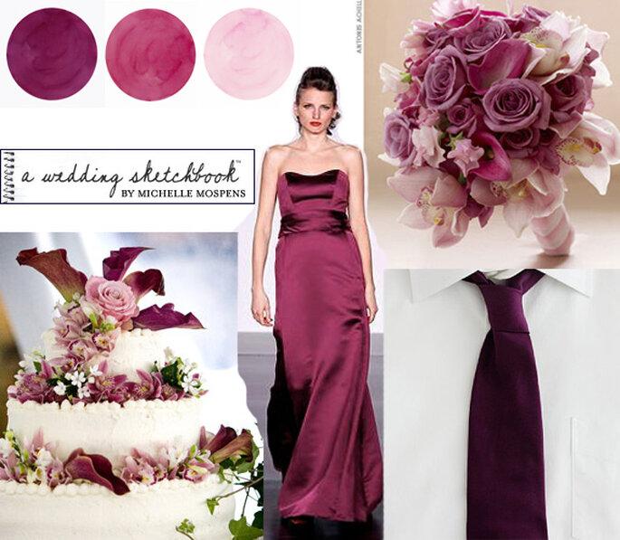 kolory na ślub i wesele modne kolory