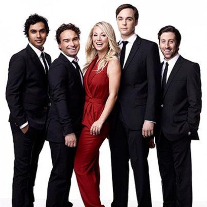 Kaley Cuoco, protagonista de la serie The Big Bang Theory - Foto TBBT Facebook