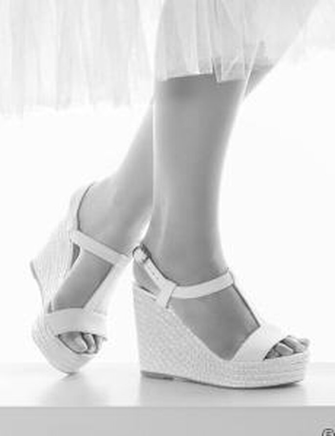Rosa Clará 2010 - Sandale avec haut talon et plateforme