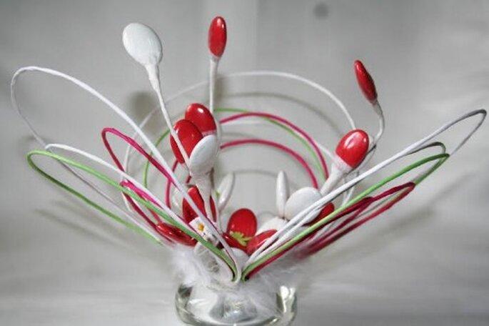 Dragées Fleuries : des cadeaux d'invités originaux, personnalisés et comestibles