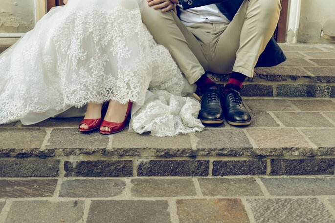 Scarpe Sposa: Pellissima Pelletteria - Foto via Oui Darling