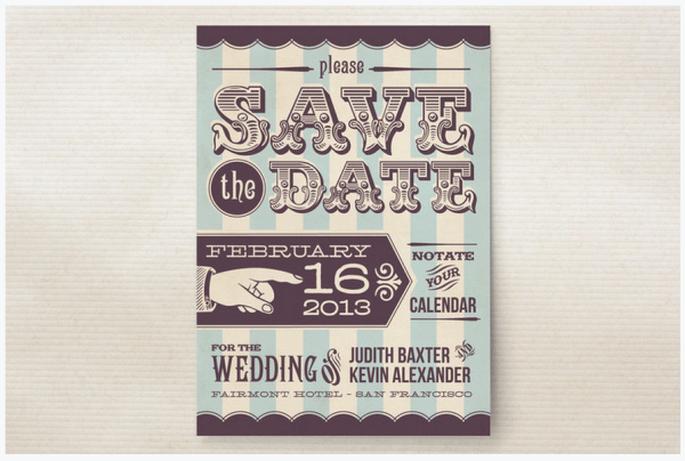 Las Save the Dates más originales - Foto Minted