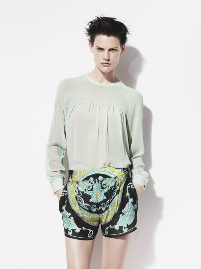 Lookbook de Zara primavera-verano 2012
