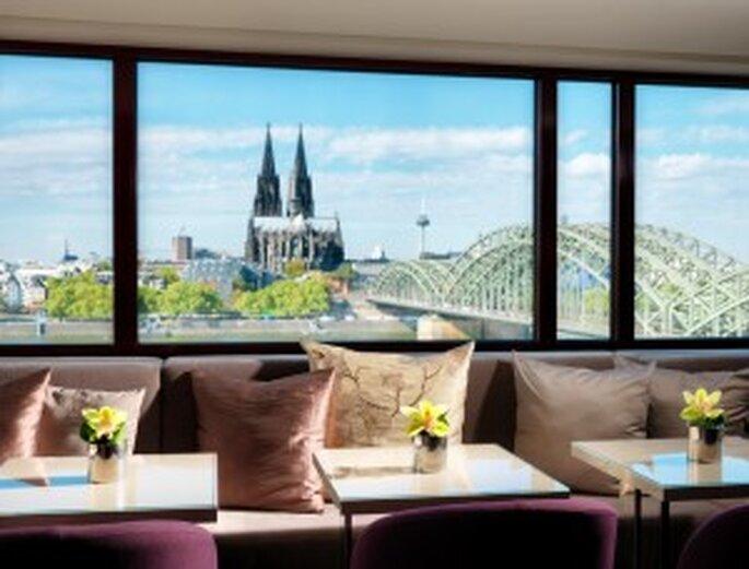 Das Kölner Hyatt Hotel bietet eine schöne Aussicht- Foto: Hyatt