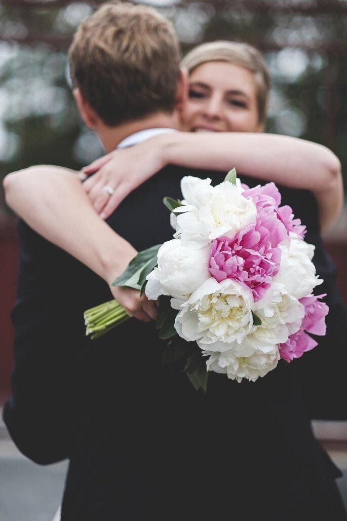 Bouquet pivoines, Oya Fleurs