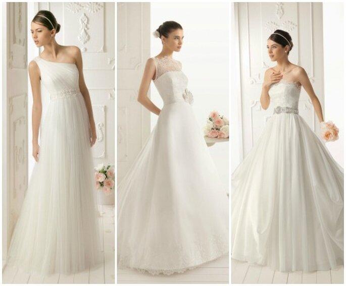 ¡Vestidos de novia apasionantes! Foto de Aire Barcelona 2013