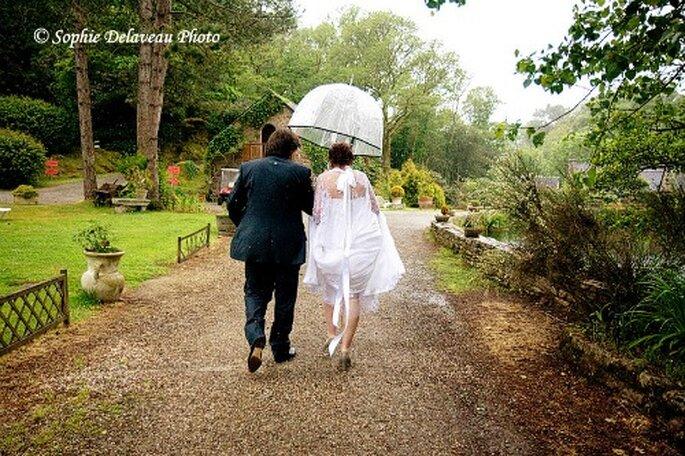 Et s'il pleuvait le jour de votre mariage ? - Crédit photo : Sophie Delaveau