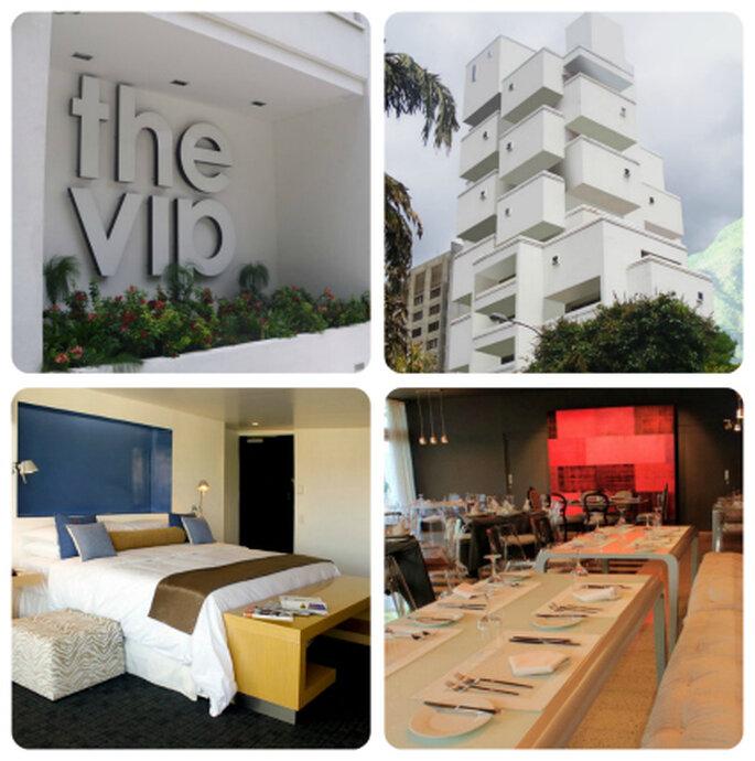 Instalaciones del Hotel VIP Caracas. Foto: www.thevipcaracas.com