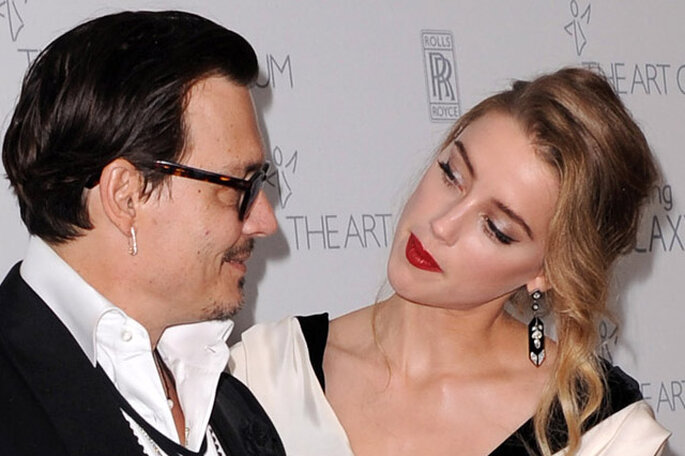 Boda de Johnny Depp y Amber Heard