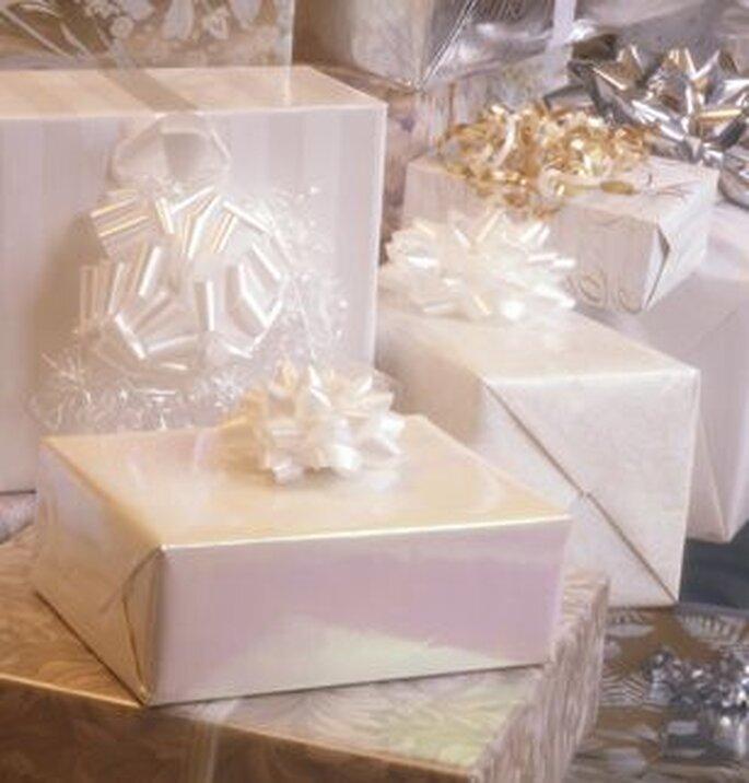 Le plaisir de regarder les paquets avant de les ouvrir !