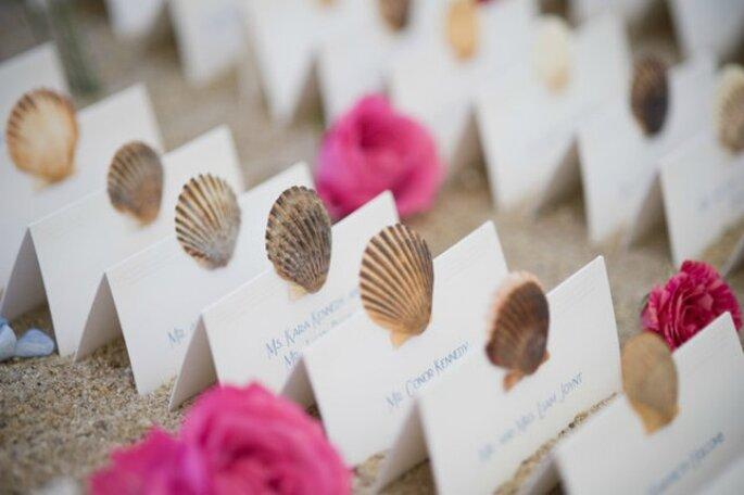 Alcune idee originali per i segnaposti del vostro matrimonio! Foto www.matrimonio.it
