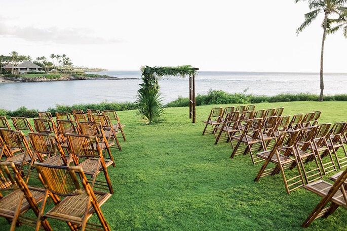 Una boda en caoba - Brandon Kidd vía LVL Events